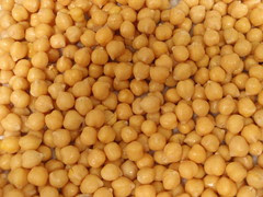 rinsed, drained garbanzo beans