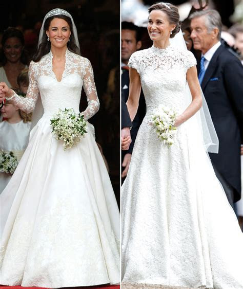 Pippa Middleton wedding dress: Giles Deacon dress, the