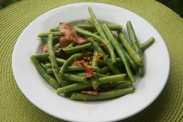 Pancetta Green Beans - French Fridays with Dorie