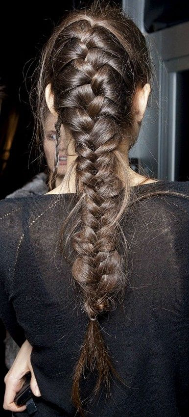 Mega braid. #hairstyle