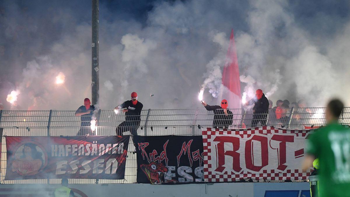 Essen-Ultras jagen Preußen-Fans: Heftige Ausschreitungen schocken Münster