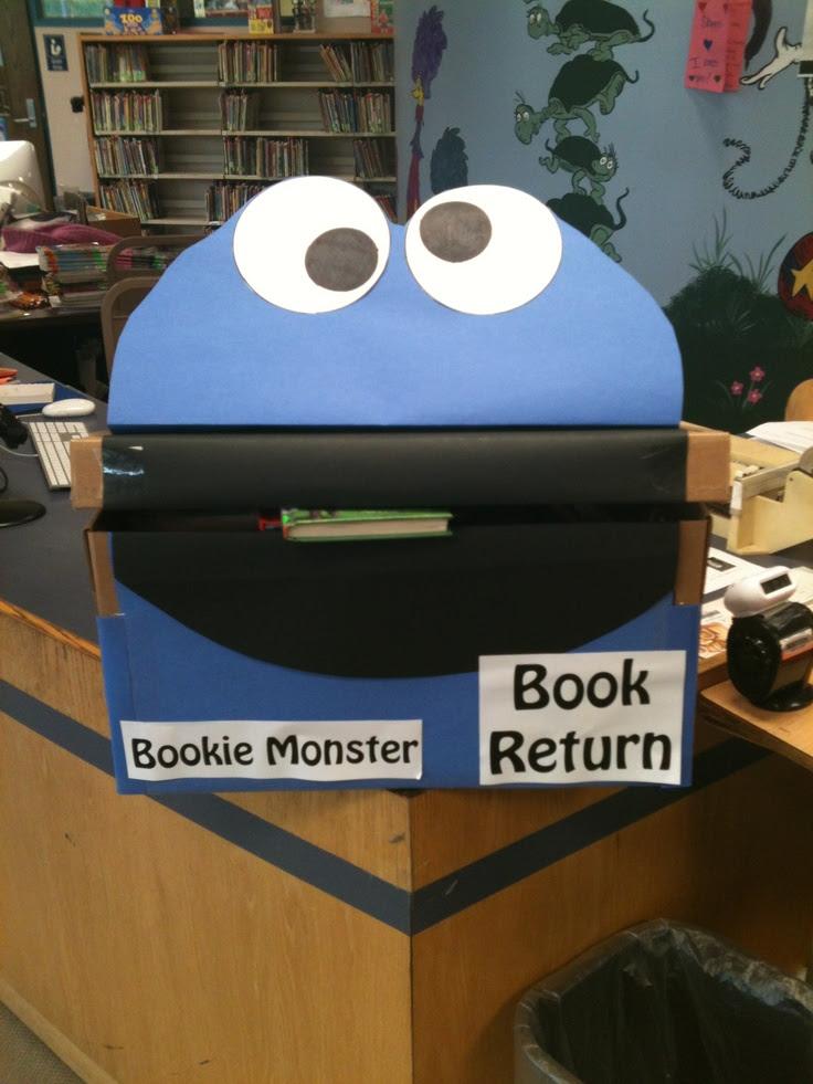 Bookie Monster - Book Return