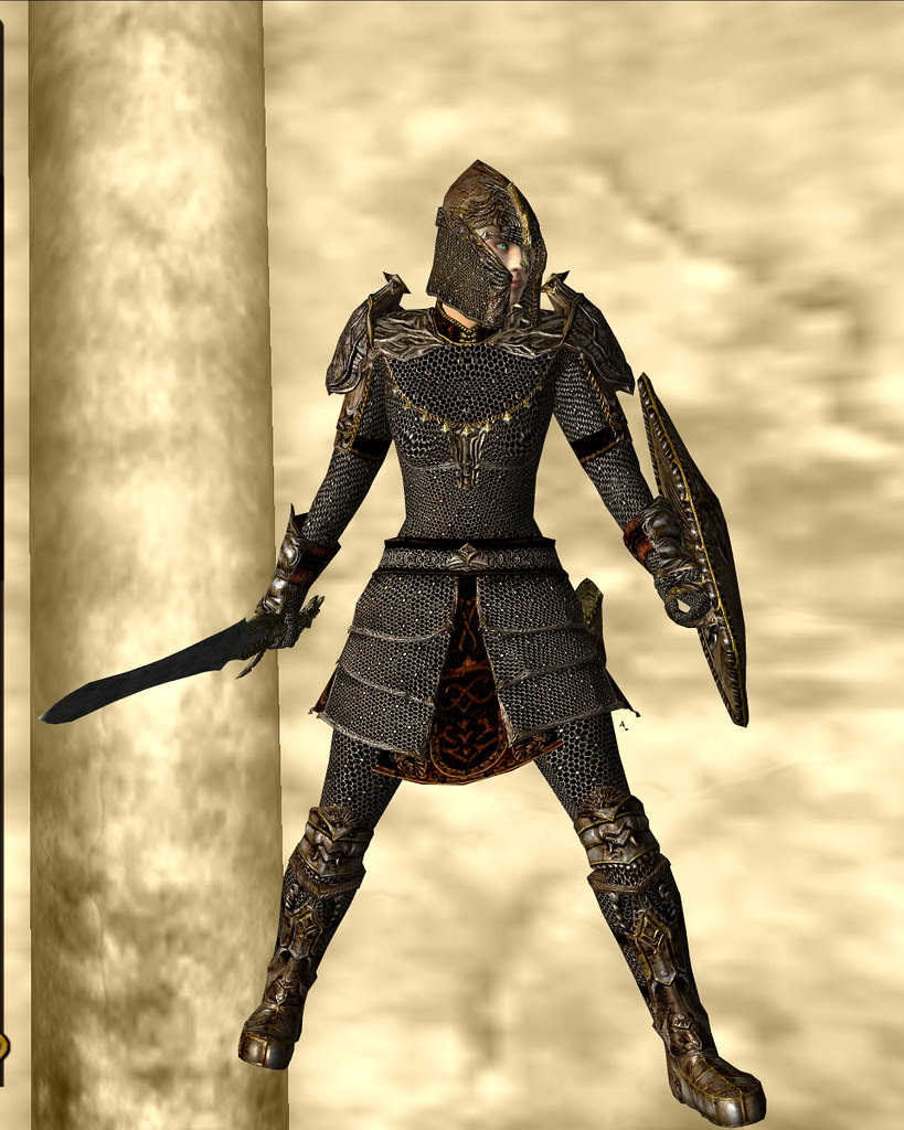 mithril armour - golden 01