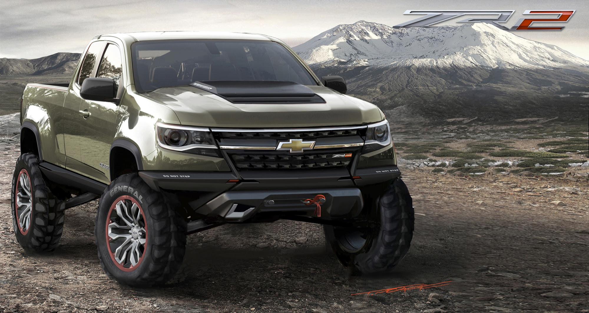 2015 Chevrolet Colorado ZR2 Concept | GM Authority