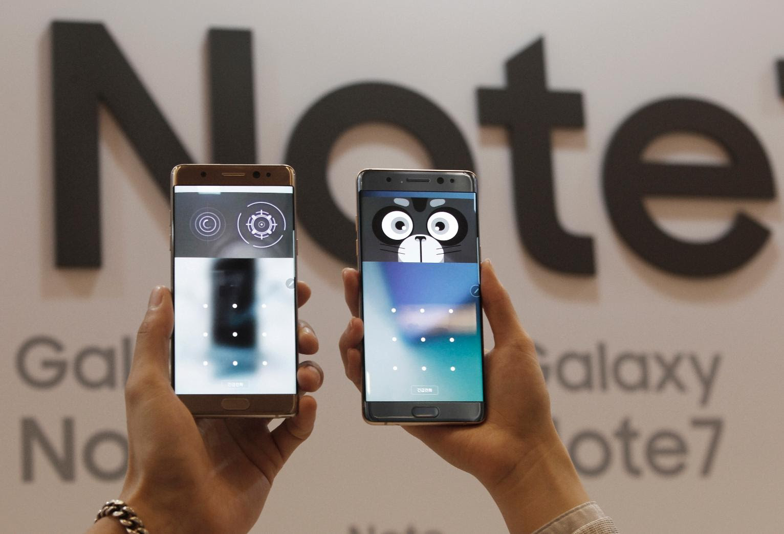Galaxy Note 7 Recalled by Samsung After Battery Explosions