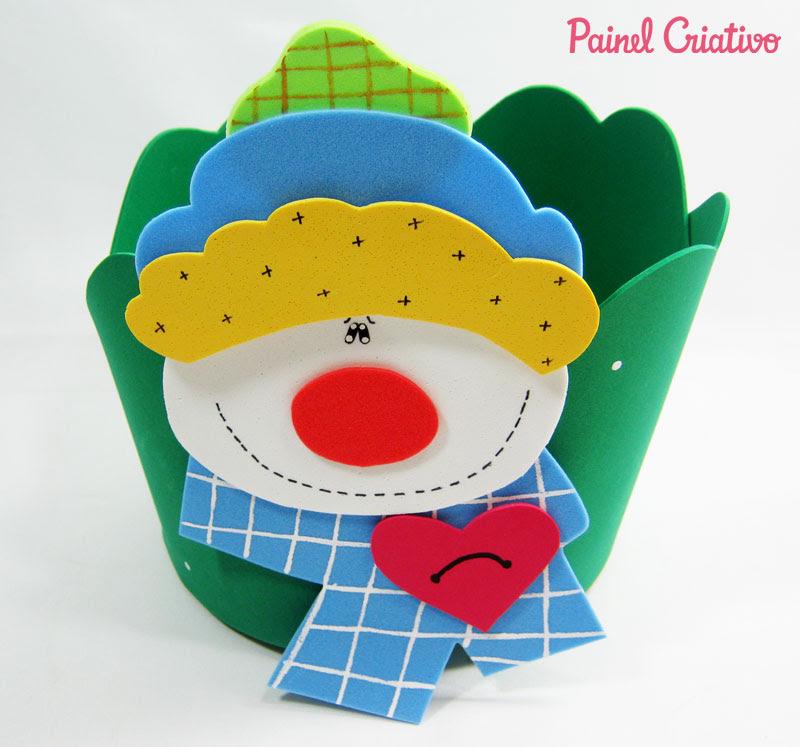 como fazer porta panetone eva presentar lembrancinha natal (3)