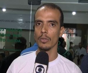 João Augusto explica que categoria foi conversar com estudantes (Foto: Reprodução/TV Sergipe)