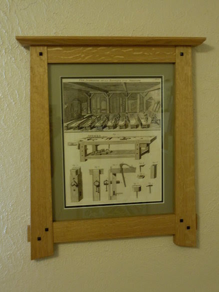 Arts And Crafts Poster Frame By Codym At Lumberjockscom