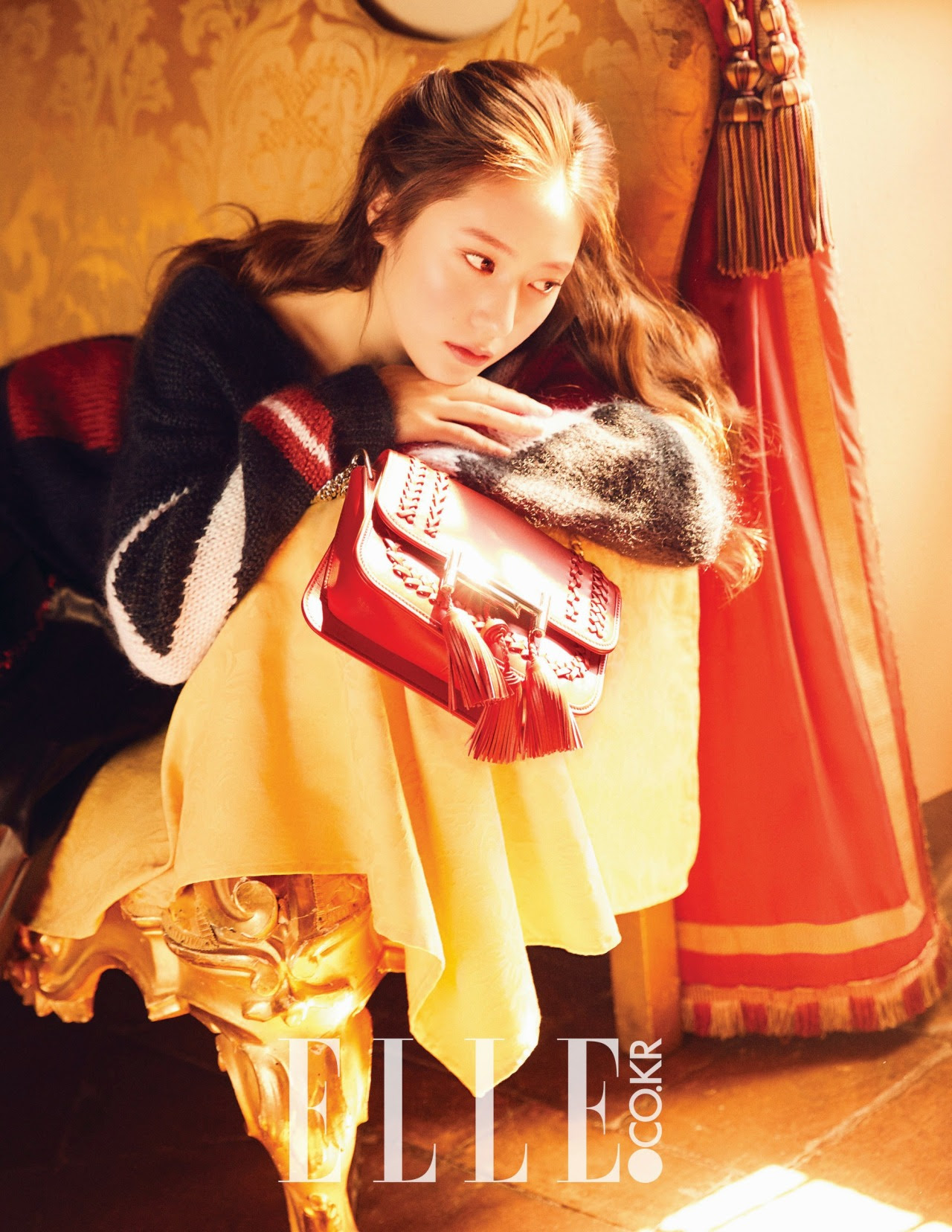 Krystal ( F(x) ) - Elle Magazine October Issue '16