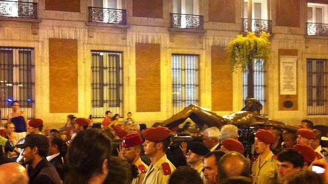 «¡Al cielo de Madrid con Él!»