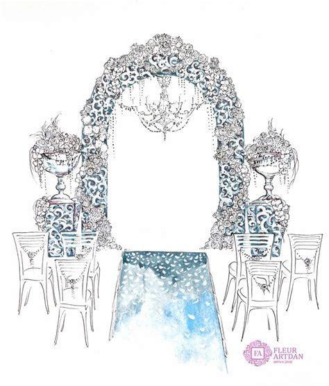 20 best Wedding sketch images on Pinterest   Wedding decor