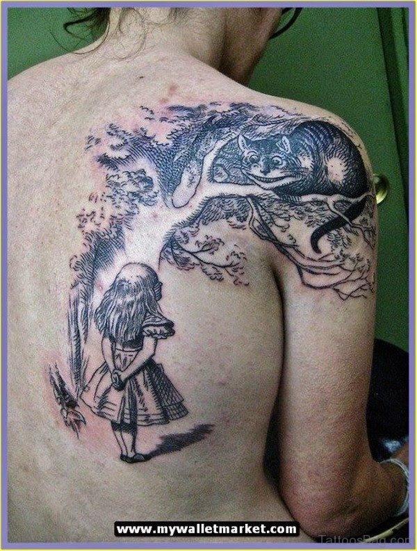 39 Cool Cat Tattoos On Shoulder