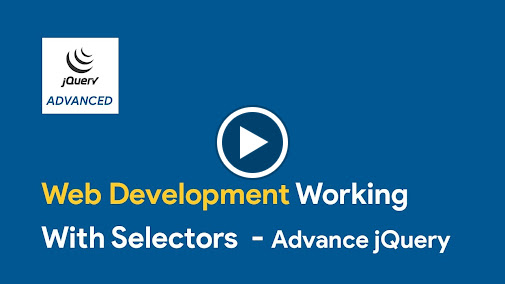 This tutorial highlights how you can work with jQuery selectors. You can buy our courses on SkillBakery.com http://skillbakery.com/course/advanced-jquery-tip...
