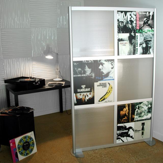 4' Modern Room Divider, Custom - modern - screens and wall ...