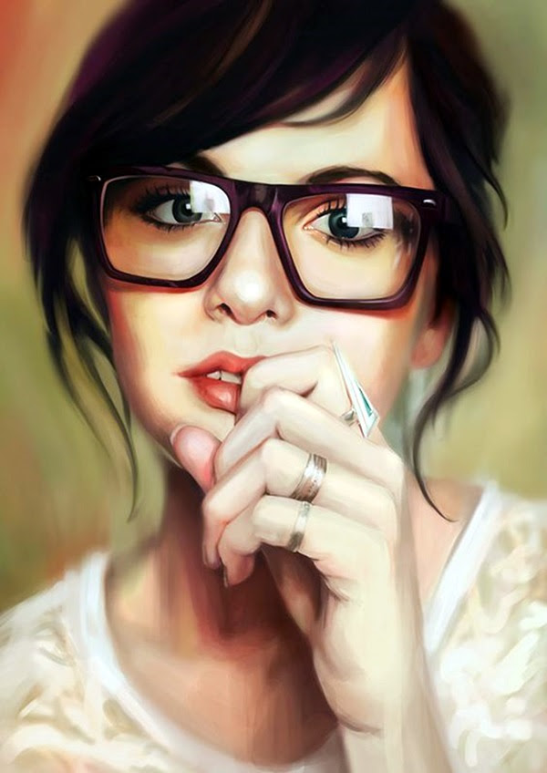 Spectacular Digital Painting Portraits (26)