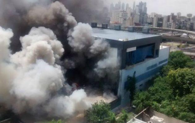 Evacuaron los estudios de Canal 13 y TN por un incendio
