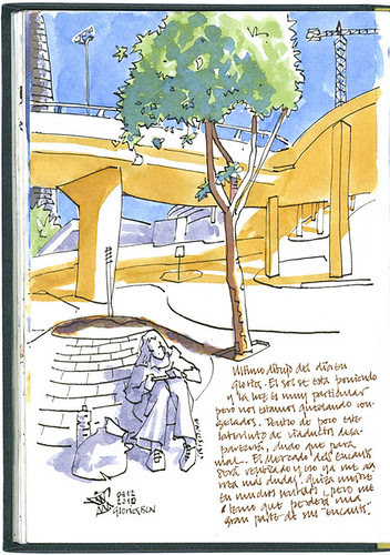 Barcelona, 29 1/2th SketchCrawl #6