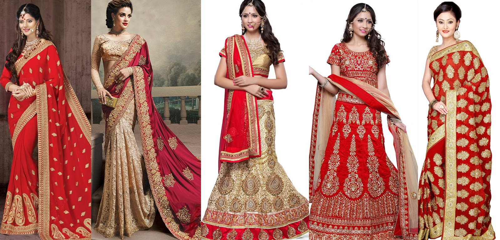 latest indian bridal dresses collection 20152016