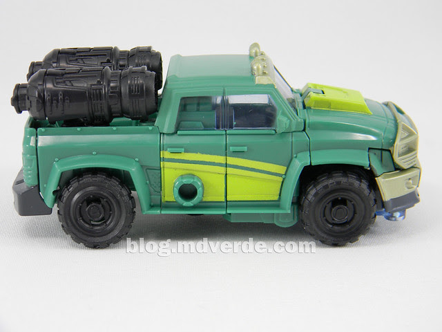 Transformers Sargeant Kup - Prime RID - modo alterno