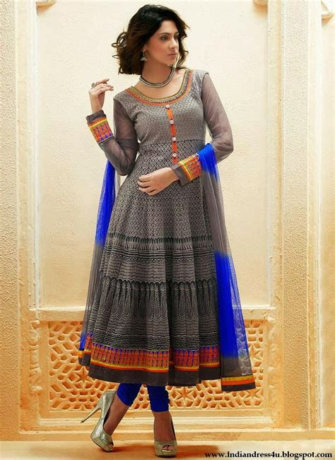 Latest Anarkali Frock Suits Designs 2014   Beautiful