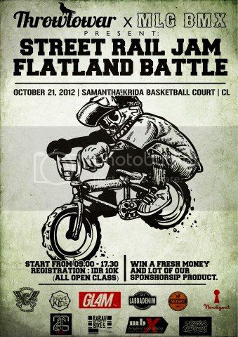Coming soon next 21th October at Samantha Krida Basketball Court (UB). Come & Join.. Get ya pedallin'.
