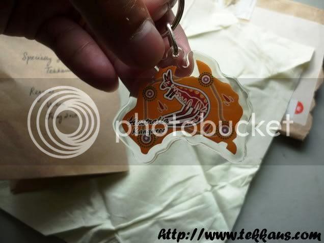Tekkaus Gifts,Kangaroo Keychain