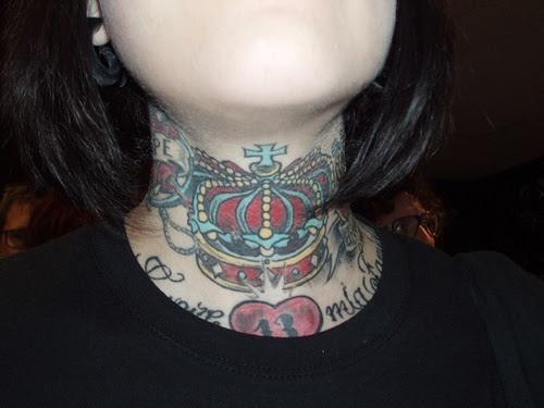 El Tatuaje En El Cuello Y La Nuca Tendenziascom
