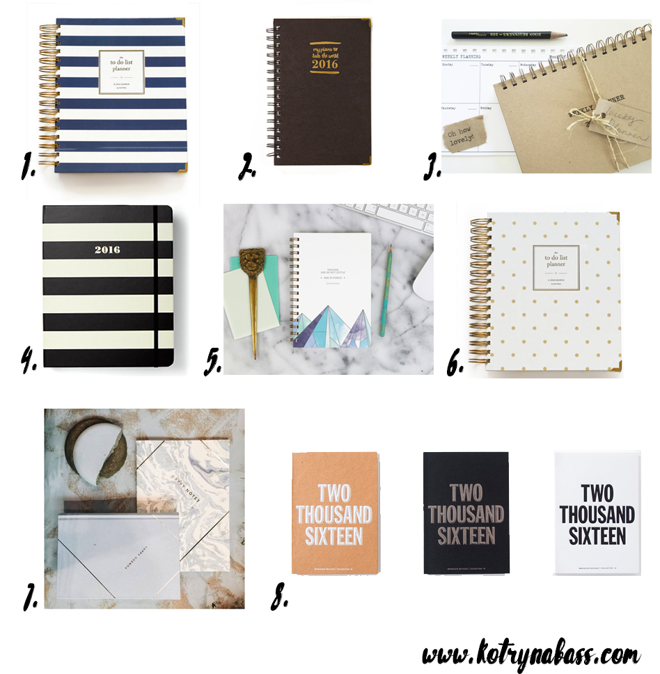 Best Planners for Successful 2016 - Lifestyle Blog + Entrepreneur ...