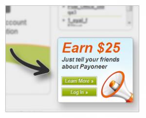 كيفية الإشتراك ببرنامج الإحالة الخاص بموقع payoneer