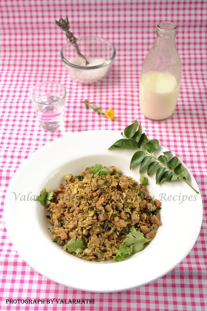 Egg & Soya Chunks Bhurji