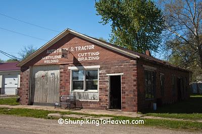 Blacksmith Shop, Bonaparte, Iowa
