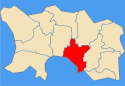 Location of Saint HelierSaint-Hélier in Jersey
