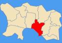Location of Saint HelierSaint-Hélier in Jersey
