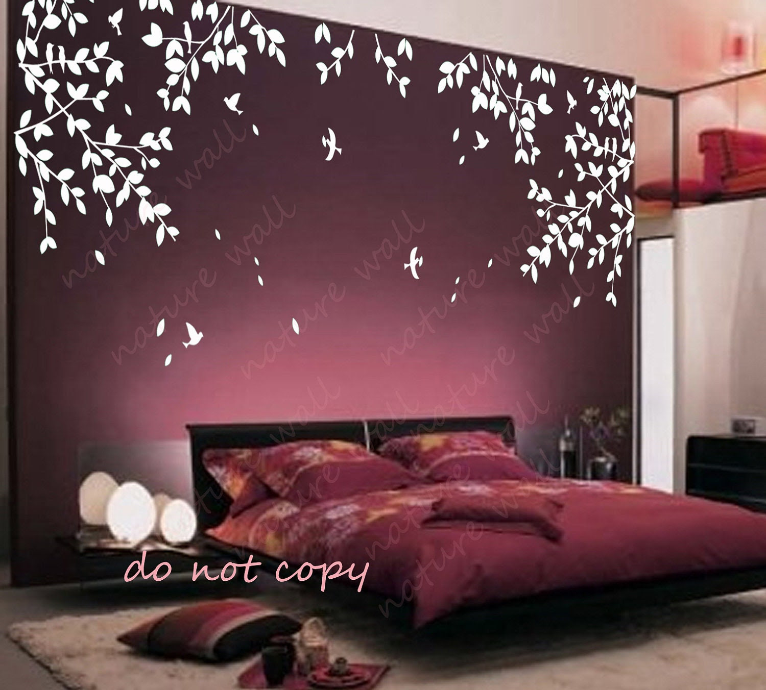 Branch wall decals wall stickers Kids wall art baby by NatureWall