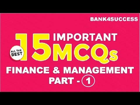 Management MCQs With Explanation for RBI Grade B Set -1 PDF Download