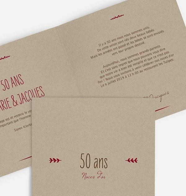 Hearth of Arabia: Texte Remerciement Invitation Anniversaire 50 Ans De Mariage