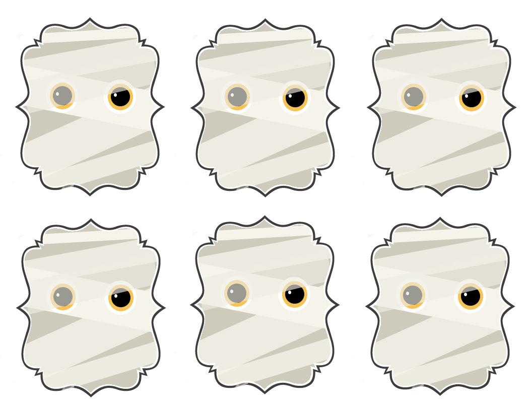 Etiquetas de momias.