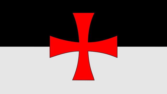 Bandeira Templaria