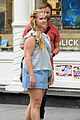 amy schumer is feeling pretty in blue on new movie set 01