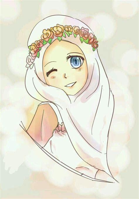 pin   jod  resom anime muslim hijab cartoon