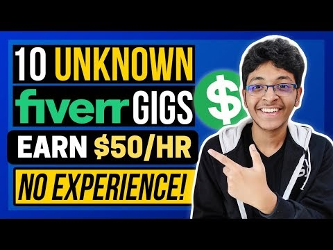How to earn money from fiverr without any skill?