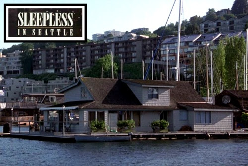 """The Real Houseboat from """"Sleepless in Seattle"""""""