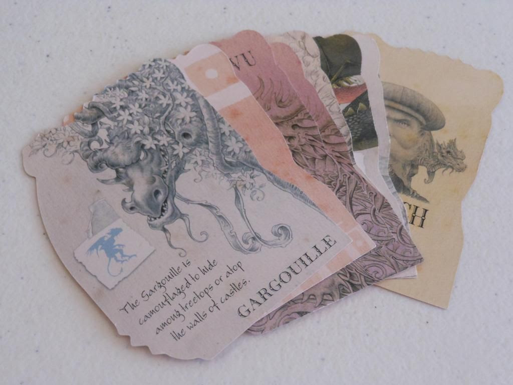 Dragonology cards