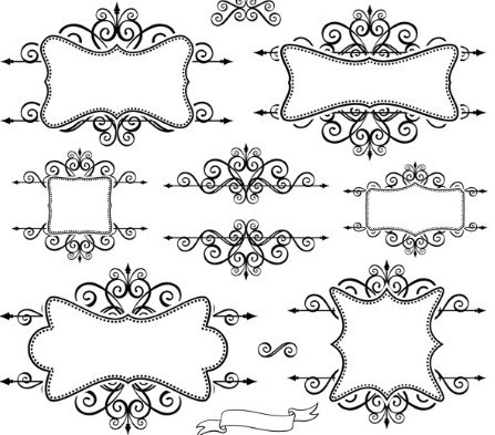 18 Floral Frames And Borders Vector Images Free Vector Borders And
