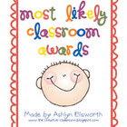 Most Likely Awards (End of Year Certificates)