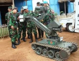 Robot Temput TNI