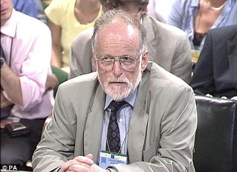 Unresolved issues: Lord Hutton's inquiry concluded that Dr Kelly slit his writs to kill himself - but a key medical record relating to his death is still missing