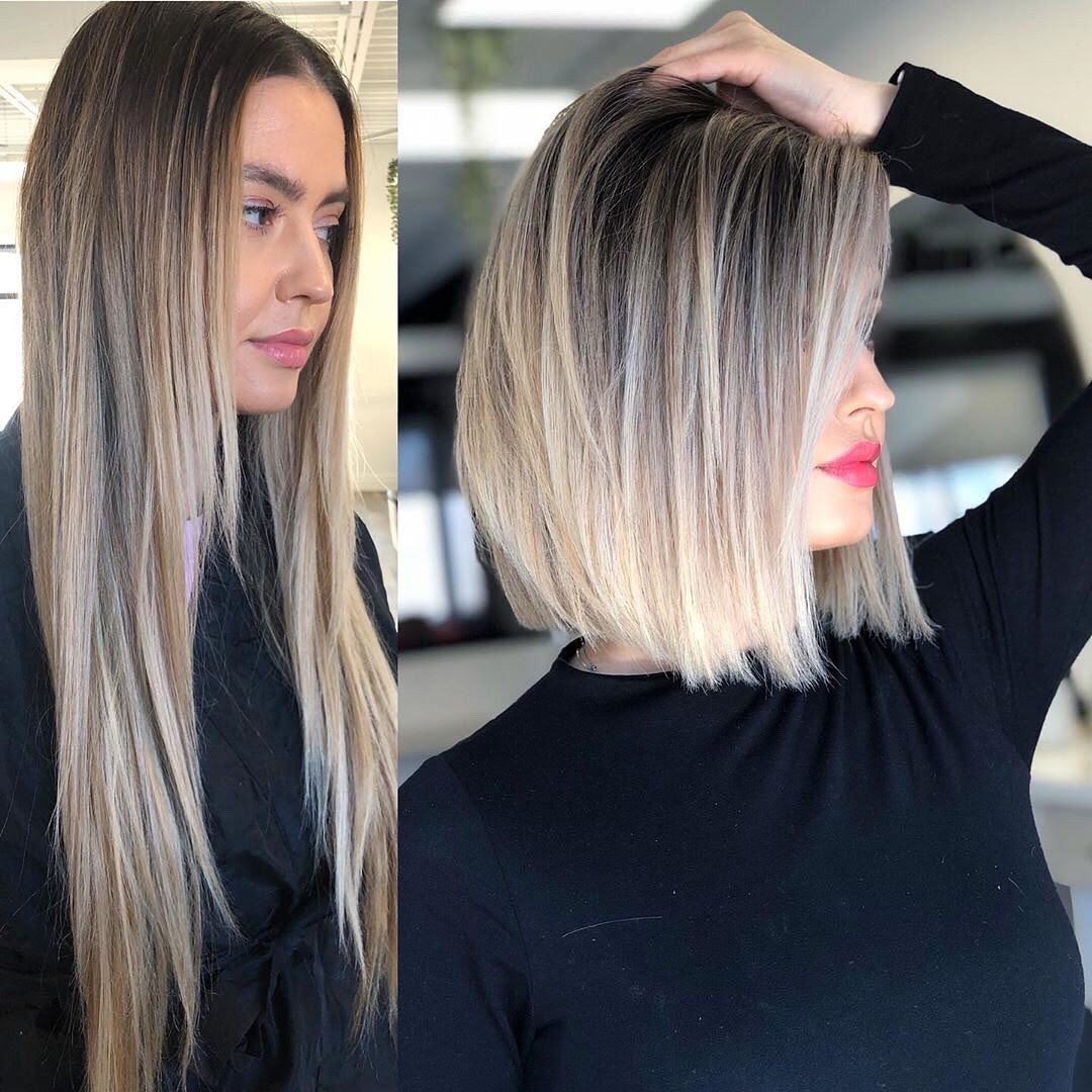 10 Ombre Hairstyles for Medium Length Hair - Women Medium Haircuts 2021