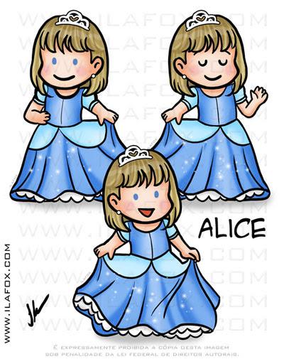 Caricatura fofinha, caricatura infantil, caricatura cinderela, by ila fox