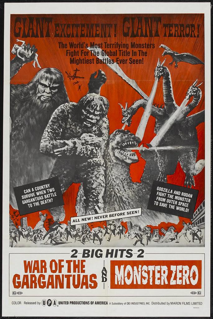 War of the Gargantuas_Monster Zero Combo (UPA, 1966)